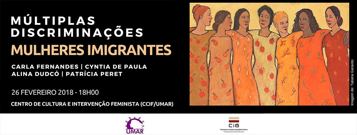 Múltiplas discriminações – Mulheres Imigrantes
